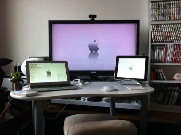 MacBook AIRでテレビを接続するために必要な物まとめ