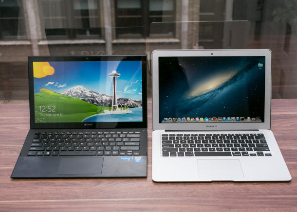 ノートパソコンの駆動時間を徹底比較!「Mac」vs「VAIO」編