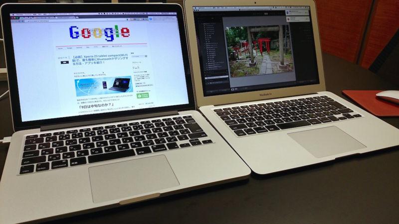 【図解】MacBook ProとAirのスペックの違いを徹底比較