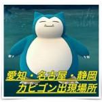 【ポケモンGO】愛知・名古屋・静岡のカビゴンの出現場所まとめ