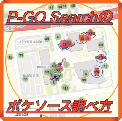 P-GO Searchのポケソースの調べ方・見方を徹底解説!